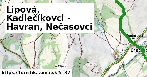 ilustračný obrázok k Lipová, Kadlečíkovci - Havran, Nečasovci