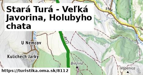 ilustračný obrázok k Stará Turá - Veľká Javorina, Holubyho chata