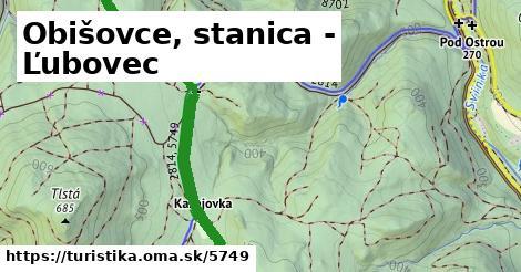 ilustračný obrázok k Obišovce, stanica - Ľubovec