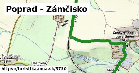 ilustračný obrázok k Poprad - Zámčisko