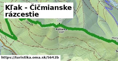 ilustračný obrázok k Kľak - Čičmianske rázcestie