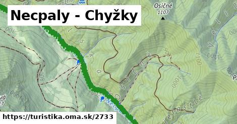 ilustračný obrázok k Necpaly - Chyžky
