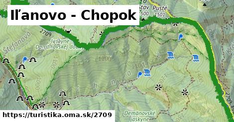 ilustračný obrázok k Iľanovo - Chopok