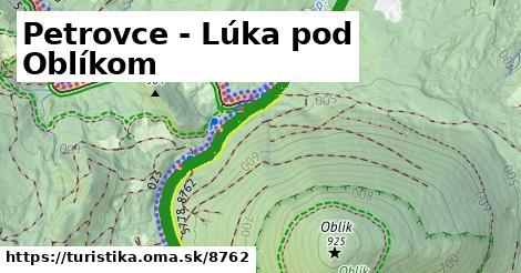 ilustračný obrázok k Petrovce - Lúka pod Oblíkom