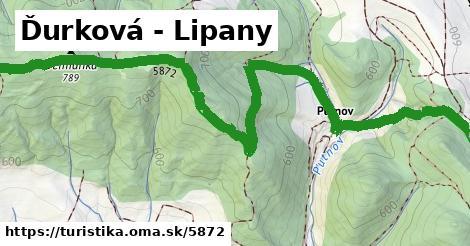 ilustračný obrázok k Ďurková - Lipany