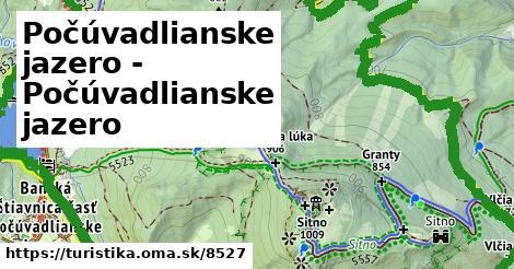 ilustračný obrázok k Počúvadlianske jazero - Počúvadlianske jazero