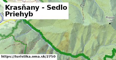 ilustračný obrázok k Krasňany - Sedlo Priehyb
