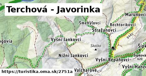 ilustračný obrázok k Terchová - Javorinka