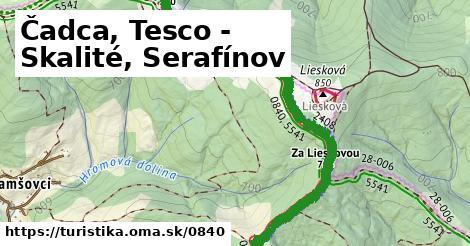 ilustračný obrázok k Čadca, Tesco - Skalité, Serafínov