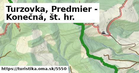 ilustračný obrázok k Turzovka, Predmier - Konečná, št. hr.