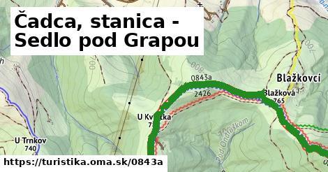 ilustračný obrázok k Čadca, stanica - Sedlo pod Grapou