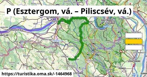P (Esztergom, vá. – Piliscsév, vá.)