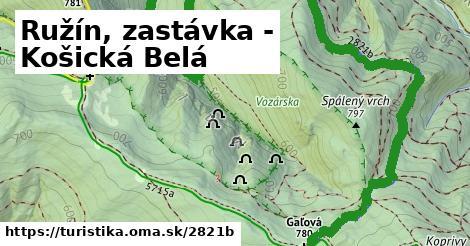 ilustračný obrázok k Ružín, zastávka - Košická Belá