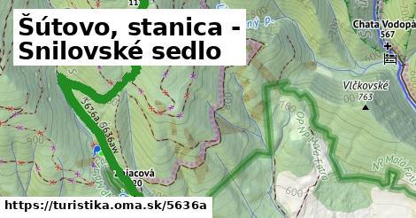 ilustračný obrázok k Šútovo, stanica - Snilovské sedlo