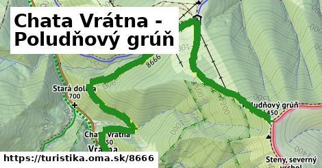 ilustračný obrázok k Chata Vrátna - Poludňový grúň