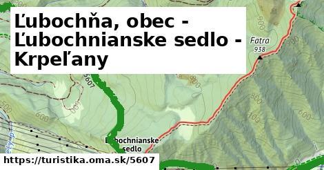 ilustračný obrázok k Ľubochňa, obec - Ľubochnianske sedlo