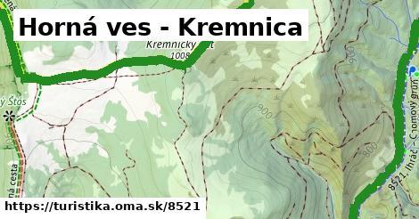 ilustračný obrázok k Horná ves - Kremnica
