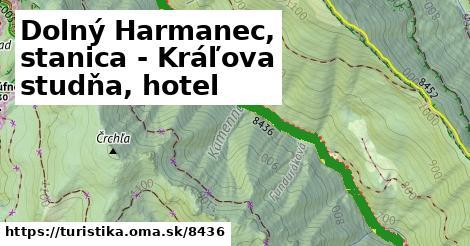 ilustračný obrázok k Dolný Harmanec, stanica - Kráľova studňa, hotel
