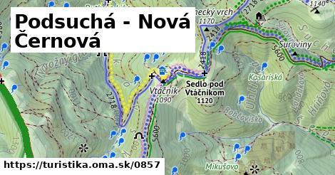 ilustračný obrázok k Podsuchá - Nová Černová