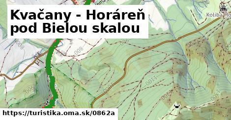 ilustračný obrázok k Kvačany - Horáreň pod Bielou skalou