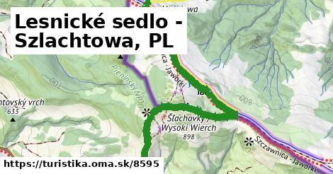 ilustračný obrázok k Lesnické sedlo - Szlachtowa, PL