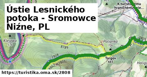 ilustračný obrázok k Ústie Lesnického potoka - Sromowce Niźne, PL