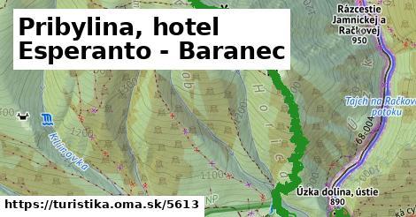 ilustračný obrázok k Pribylina, hotel Esperanto - Baranec