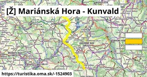 [Ž] Mariánská Hora - Kunvald