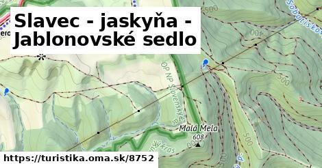 ilustračný obrázok k Slavec - jaskyňa - Jablonovské sedlo