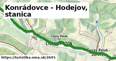 ilustračný obrázok k Konrádovce - Hodejov, stanica