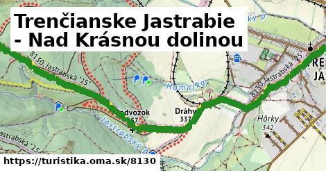 ilustračný obrázok k Trenčianske Jastrabie - Nad Krásnou dolinou