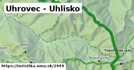 ilustračný obrázok k Uhrovec - Uhlisko