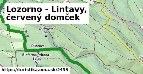 ilustračný obrázok k Lozorno - Lintavy, červený domček