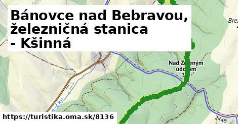 ilustračný obrázok k Bánovce nad Bebravou, železničná stanica - Kšinná