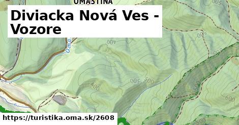 ilustračný obrázok k Diviacka Nová Ves - Vozore