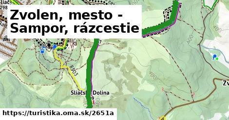ilustračný obrázok k Zvolen, mesto - Sampor, rázcestie