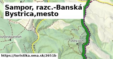 ilustračný obrázok k Sampor, razc.-Banská Bystrica,mesto