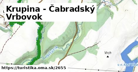 ilustračný obrázok k Krupina - Čabradský Vrbovok