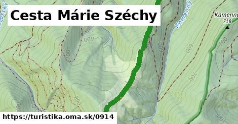 ilustračný obrázok k Cesta Márie Széchy