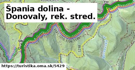 ilustračný obrázok k Špania dolina - Donovaly, rek. stred.