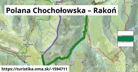 ilustračný obrázok k Polana Chochołowska – Rakoń