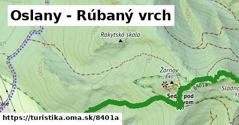 ilustračný obrázok k Oslany - Rúbaný vrch