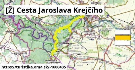 [Ž] Cesta Jaroslava Krejčího