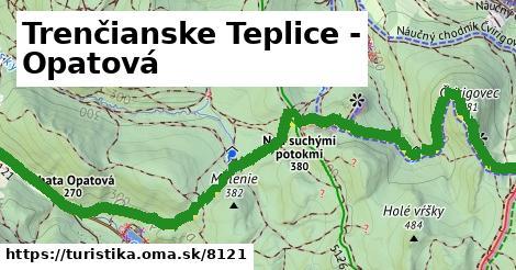 ilustračný obrázok k Trenčianske Teplice - Opatová