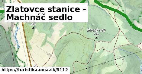 ilustračný obrázok k Zlatovce stanice - Machnáč sedlo