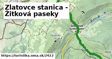 ilustračný obrázok k Zlatovce stanica - Žitková paseky