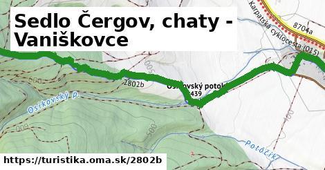 ilustračný obrázok k Sedlo Čergov, chaty - Vaniškovce