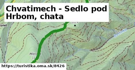 ilustračný obrázok k Chvatimech - Sedlo pod Hrbom, chata