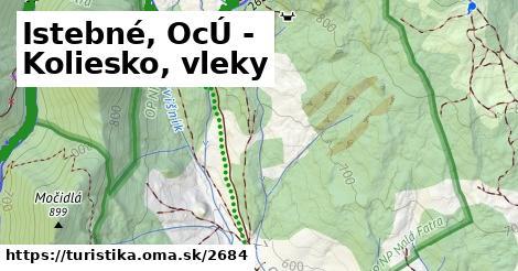 ilustračný obrázok k Istebné, OcÚ - Koliesko, vleky