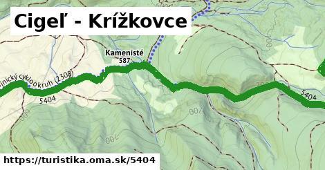 ilustračný obrázok k Cigeľ - Krížkovce